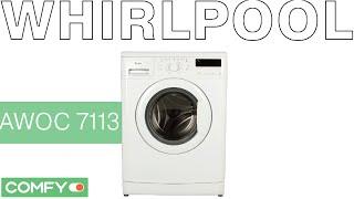 видео Встраиваемая стиральная машина Whirlpool AWOC 0714