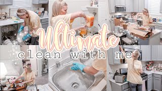 2020 ULTIMATE CLEAN WITH ME//WHOLE HOUSE CLEANING MOTIVATION