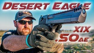 DESERT EAGLE XIX .50AE   FIRST SHOTS   DEagle !