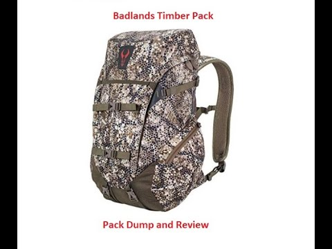 Badlands Timber Pack Review