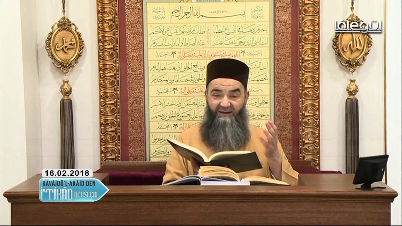 Kavâidül Akâid İtikâd Dersleri 13.Bölüm 16 Şubat 2018 - Cübbeli Ahmet Hocaefendi Lâlegül TV