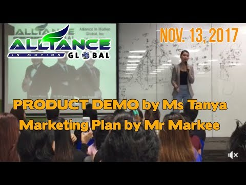 Product Demo and Marketing Plan AIM GLOBAL Nov. 13, 2017