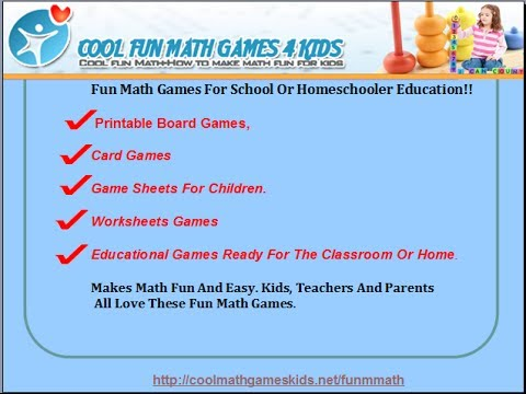 Cool Math Ways To Make More Fun 4 Kids