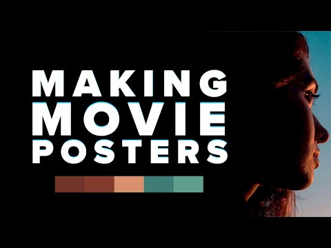 How to Make a Movie Poster for Your Projects  in Photoshop ~ Kriscoart