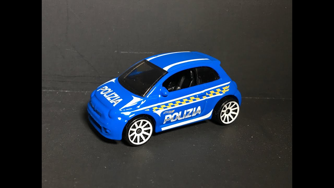 Hot Wheels Fiat 500 Polizia 1 64 Review