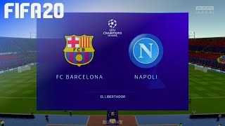 Check out this brand new fifa 20 gameplay of the uefa champions league by beatdown gaming on ps4. in match fc barcelona take napoli at generic el...
