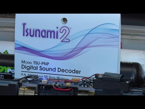 Soundtraxx Tsunami 2 install and review. Part 1.