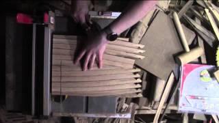 Whisky Barrel End Grain Cutting Board