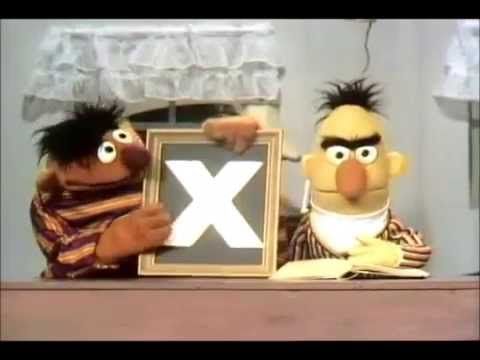 Sesame Street  Ernie and Bert  Bacon and X 1969