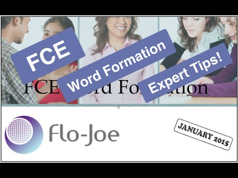 FCE Word Formation