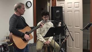 Jadin Performing Hey Jude Main Street Music and Art Studio