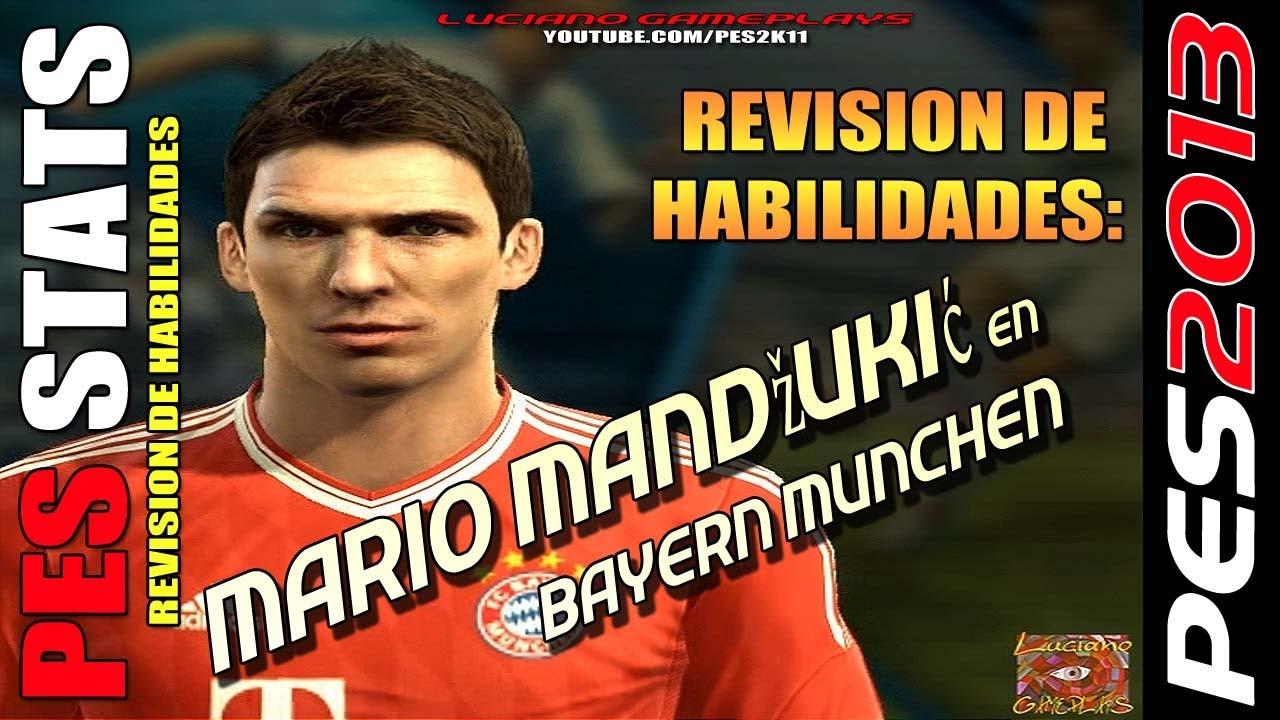 Mario Fernandes Pes Stats ~ Stats Mario Mand u017euki u0107 en Bayern Munchen Revisión