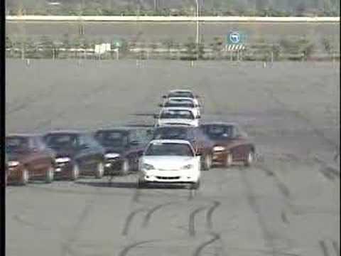 Hyundai Avante Elantra Car Stunt