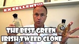 Best Green Irish Tweed Clone Yet - Emerald Isle (Parfums Vintage) plus Verbena Fields Comparison
