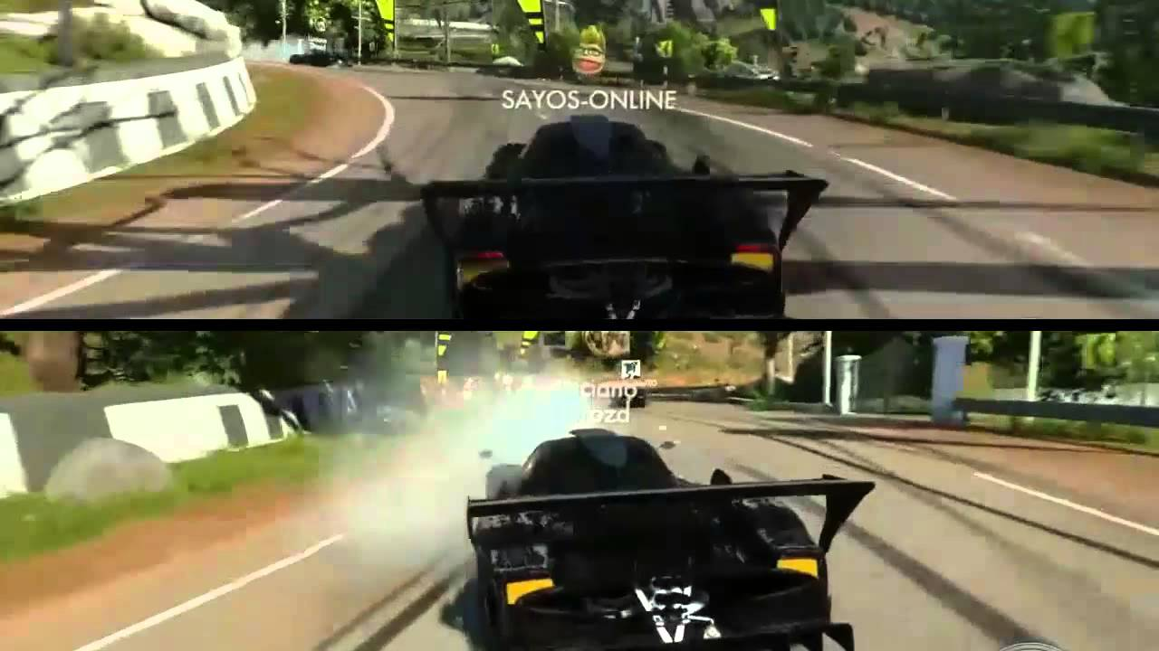 Driveclub Ps4 Gameplay Splitscreen