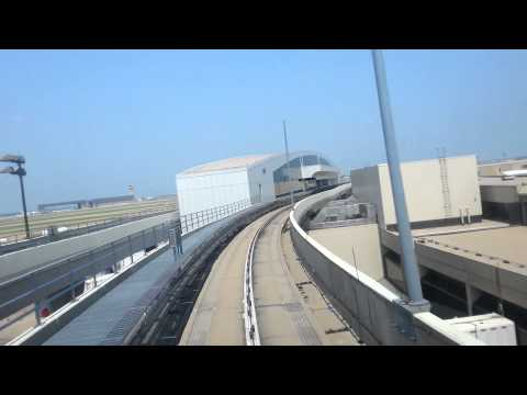 Airport TRAIN DART Rout Dallas/Fort Worth International Airport
