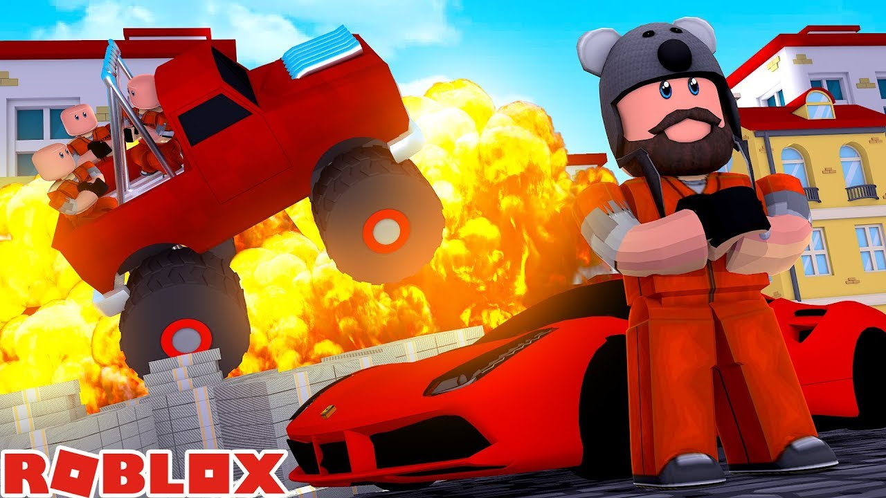 ferrari 6 criminals in my monster truck jailbreak roblox youtube. Black Bedroom Furniture Sets. Home Design Ideas