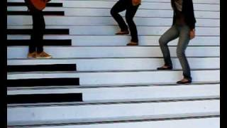 Piano stairs song