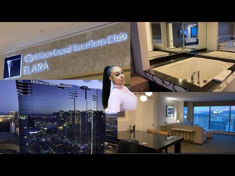Jacuzzi Suite Tour, Hilton Elara Grand Vacation Club/Las Vegas🎰🎲