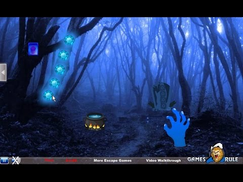 Haunted Forest Halloween Escape Walkthrough Games2rule