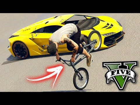 GTA V Online: BMX vs ZENTORNO - O KILL mais DAORA!!!