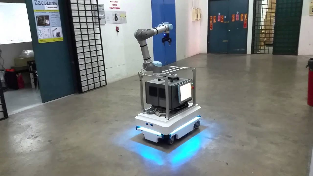 Mir Mobile Industrial Robots With Universal Robots Youtube