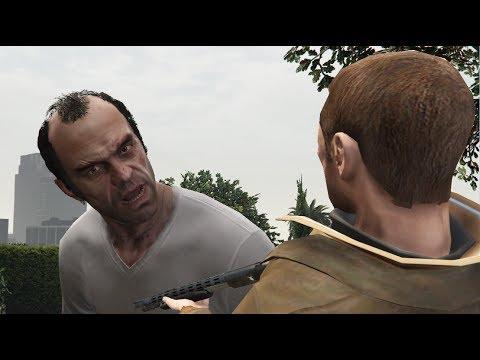 GTA V Niko kills Trevor