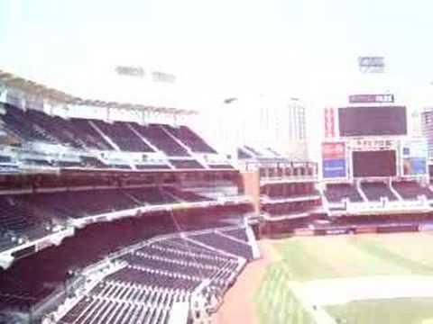Petco Park - San Diego Padres Stadium Tour Pressbox