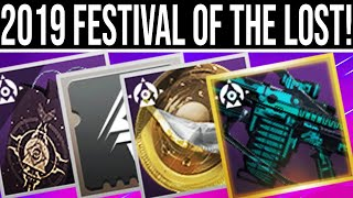 Destiny 2 Shadowkeep. FESTIVAL OF THE LOST 2019 REVEAL! Exclusive Weapon, New Loot, Activities