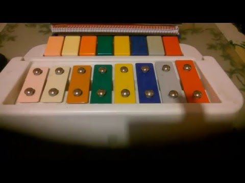 8Key Children Keyboard Xylophone Song 1