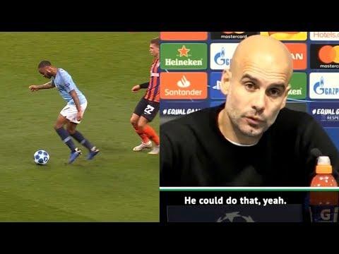 Guardiola about Sterling unfair penalty - Pathetic HAS NO SENSE
