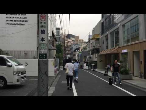 Walking around Shibuya station to Yoyogi park in Tokyo, Japan.