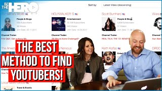 How To Find YouTubers To Collaborate With - Marcella