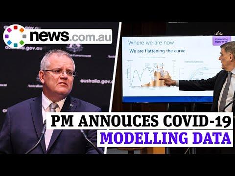PM Scott Morrison Releases Covid-19 Modelling Data