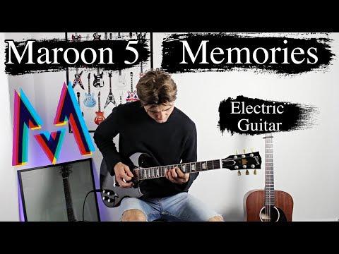 Memories - Maroon 5 - Emotional Rock Cover - Electric Guitar