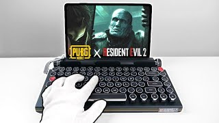 Mr X in PUBG Mobile! Resident Evil 2 Crossover Leon & Claire Skins (Asus ROG Phone Gameplay)