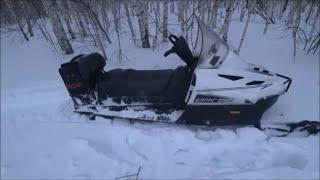 ТАЙГА ВАРЯГ 550 в глубоком снегу часть 2