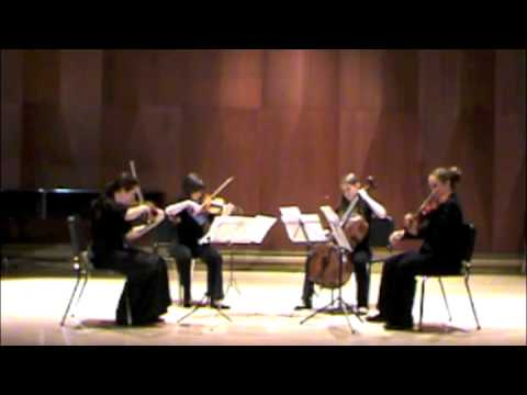 NYO Canada (NYOC) 2011 Debussy String Quartet