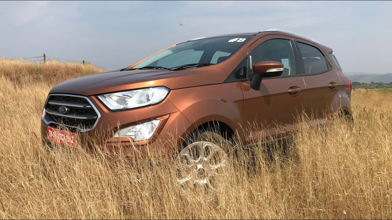 New Ford Ecosport Facelift First Look Hd Mileage