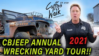 Wrecking Yard FULL of RARE JEEP PARTS!!
