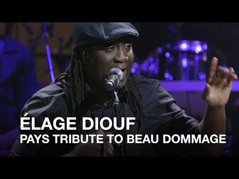 Élage Diouf pays tribute | 2017 Canadian Songwriters Hall of Fame