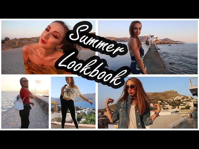 Summer lookbook 2018  Outfits ??? ??? ????????  Polinasbeauty