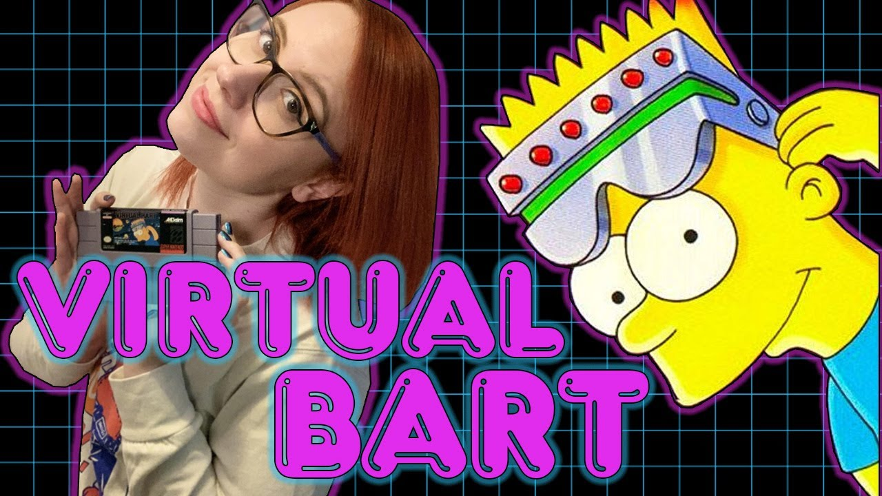 VIRTUAL BART on SUPER NINTENDO! – Erin Plays