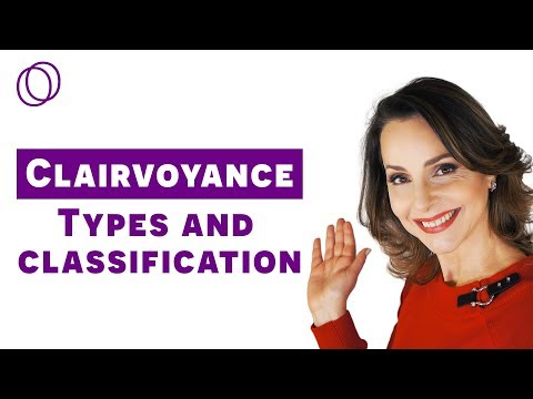 Types of Clairvoyance - seeing nonphysical beings and energy (Nanci Trivellato)