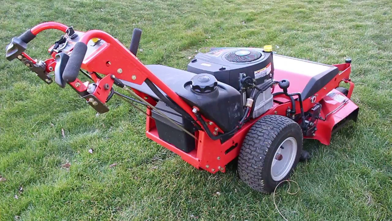 Simplicity Pacer 1734 Walk Behind Lawn Mower - Sold - YouTube