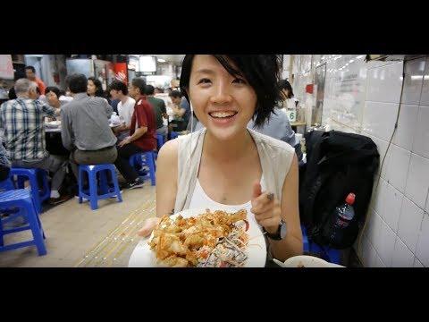 Hong Kong Food Crawl in *NORTH POINT* : Cantonese Dried Fruits, Seafood at Dai Pai Dong & Desserts!