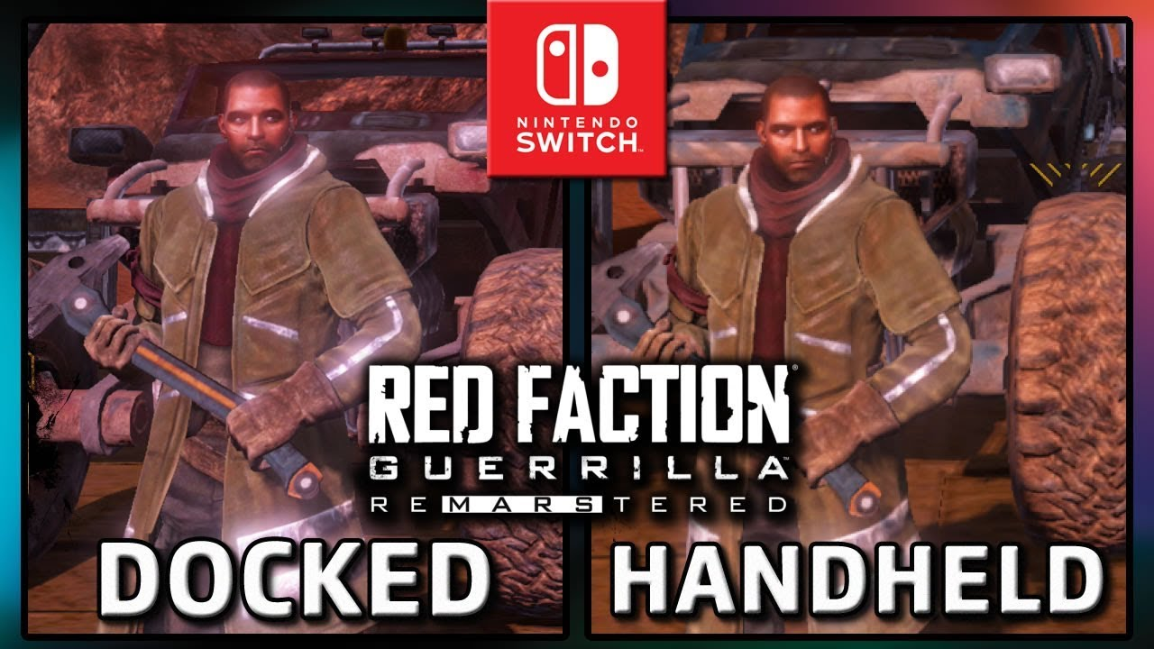 Red Faction Guerrilla Re-Mars-tered | Docked & Handheld | FULL Frame Rate TEST on Switch