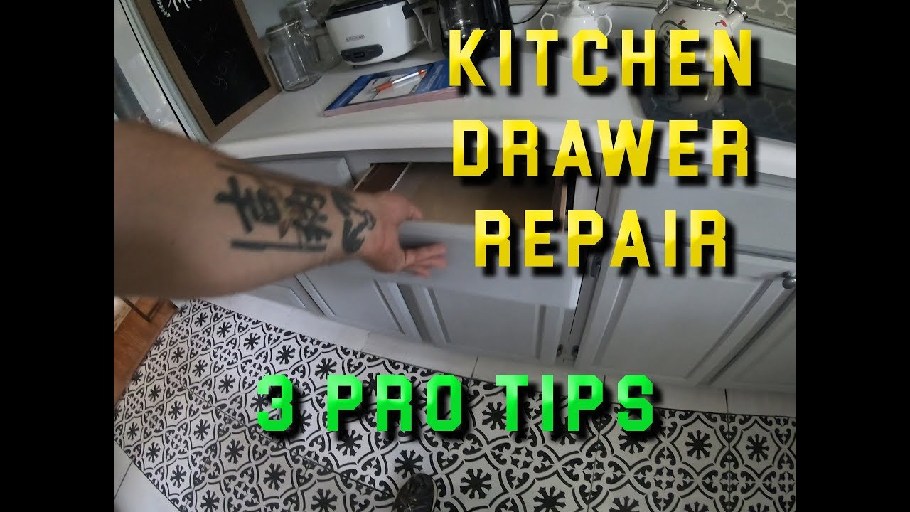 Kitchen Drawer Repair