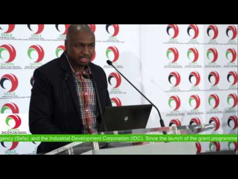 Partnerships   Mr Siyabonga Magadla: NYDA  - South African Trade and Investment Promotion Symposium