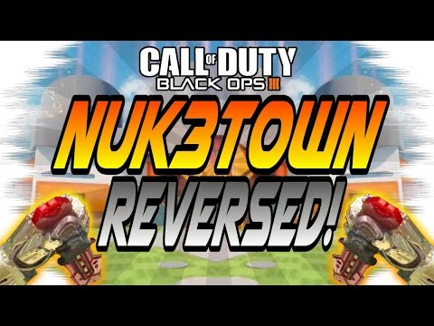 MIRRORED/REVERSED MAPS! - Nuk3town, Combine, Hunted, Fringe (Black Ops 3/BO3 Experiment)